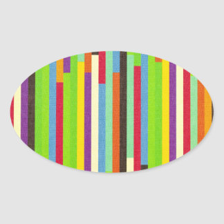 Stripes colorful abstract retro pattern background stickers