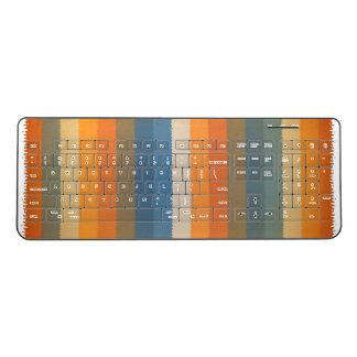 stripes Custom Wireless Keyboard