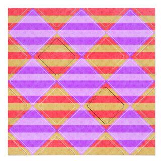 Stripes, Diamonds, Spotted Pattern Photo