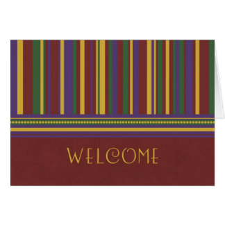 Stripes Employee Welcome to the Team Card