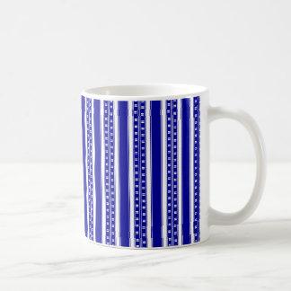 Stripes in China Blue Coffee Mug
