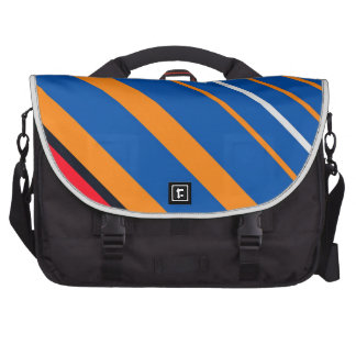 stripes laptop commuter bag