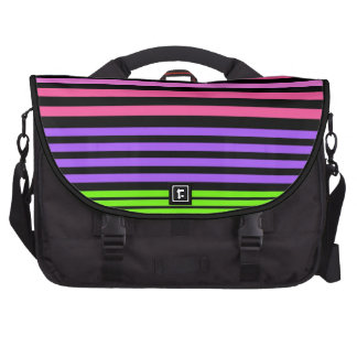 stripes laptop bag