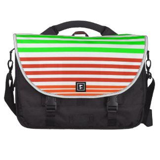stripes laptop computer bag