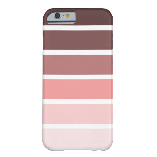Stripes - Monochromatic Color Barely There iPhone 6 Case