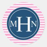 Stripes & Monogram| Monogram Shop