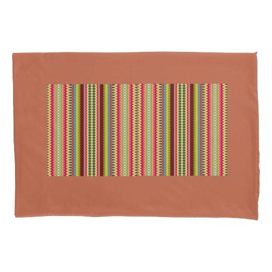 Stripes n Swirls Pillowcase