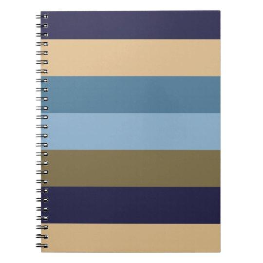 Stripes note book