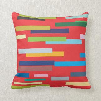 Stripes of Color American Mojo Pillow/Cushion Cushions