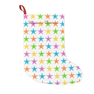 Stripes of Stars Small Christmas Stocking
