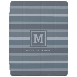 Stripes Pattern custom monogram device covers