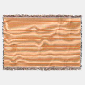Stripes pattern two tone orange cream