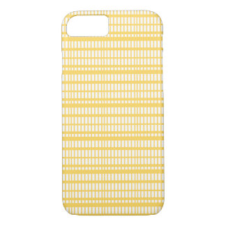 Stripes Pattern Yellow iPhone 8/7 Case