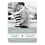 Stripes Photo | Modern Save the Date Cards Custom Invitation