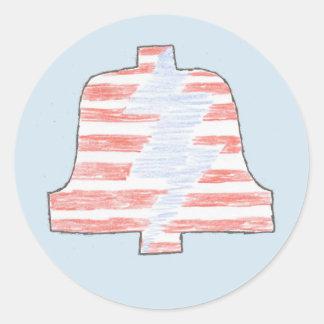 Stripes PLA Bell sticker