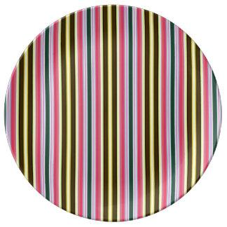 Stripes Plate