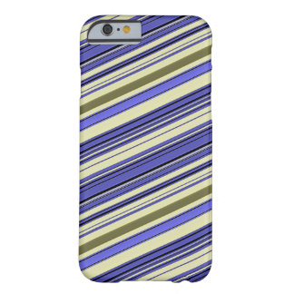 Stripes - Purple Blue Yellow Green Barely There iPhone 6 Case