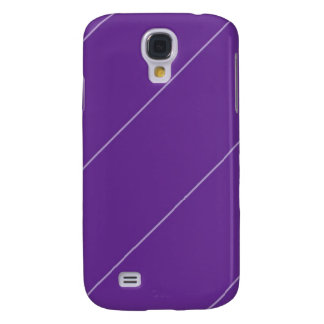 Stripes Purple Slope Samsung Galaxy S4 Cases