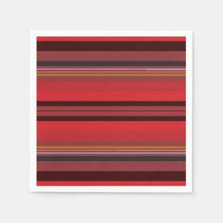 Stripes - Red Horizon Disposable Napkin