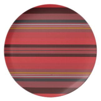 Stripes - Red Horizon Plate