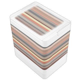 Stripes - Retro Tones Cooler