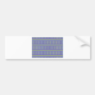 Stripes, stripes and more stripes bumper stickers
