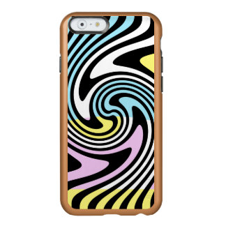 Stripes Swirl Incipio Feather® Shine iPhone 6 Case