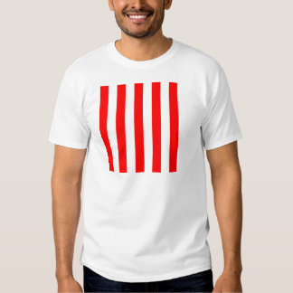 Stripes - White and Red T-shirts
