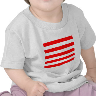 Stripes - White and Red Tee Shirt