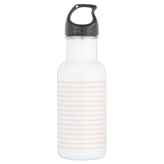 Stripes - White and Unbleached Silk 532 Ml Water Bottle