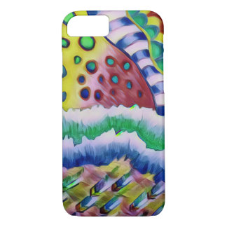Strips and Circles iPhone 8/7 Case