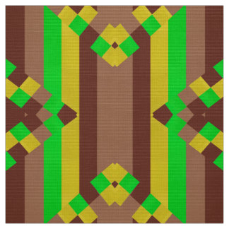 Strips in Brown inspiration Fabric