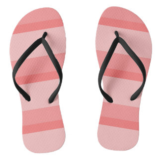 Strips - pink. thongs
