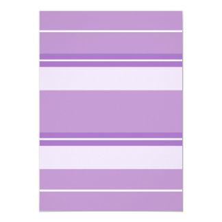 Strips - purple. card
