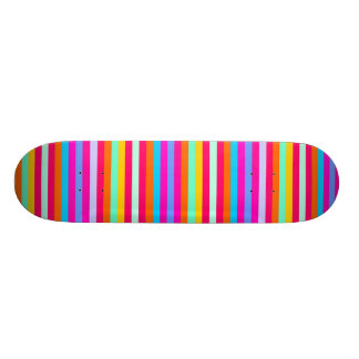 Stripy Color Skateboard Decks