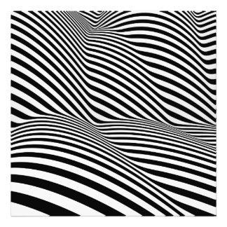 Stripy Hills Photo Print