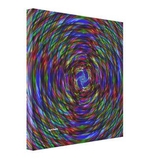 Strobe Light Canvas Print