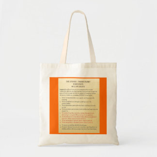 Stroke / Brain Injury Bill of Rights by Tom Schuck Canvas Bags