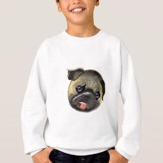 stroke my pug sweatshirt
