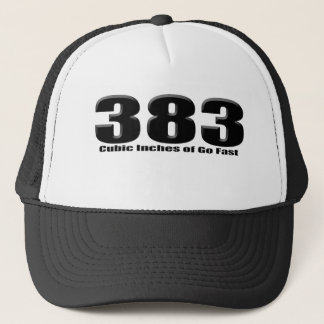 stroked 383 trucker hat