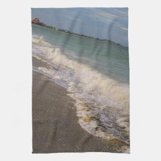 Stroll along St Pete Beach Kitchen Towels