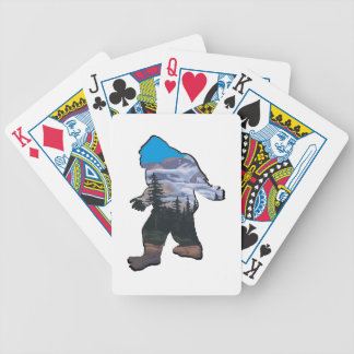 STROLL IN MOUNTAINS BICYCLE PLAYING CARDS