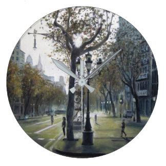Stroll of Grace Large Clock