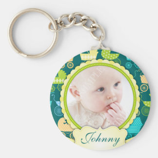 Stroller Chic Custom Photo Keepsake Key Ring