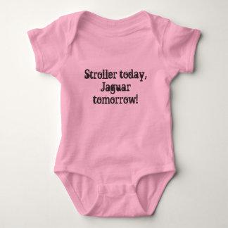 Stroller today, Jaguar tomorrow! Baby Bodysuit
