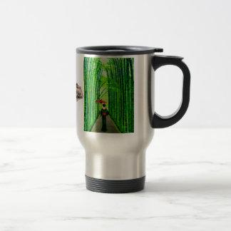 """Strolling Beauty"" Travel Mug"