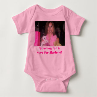Strolling for a cure for Marlene! Tshirts