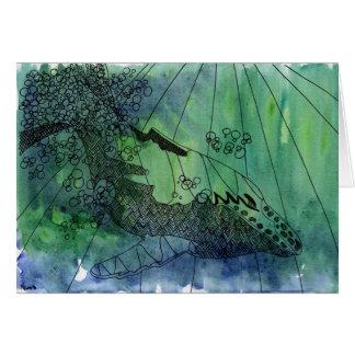 Strombo Blank Greeting Card