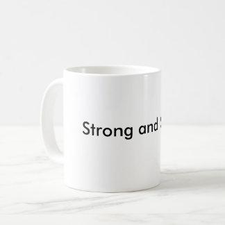 Strong and stable coffee mug