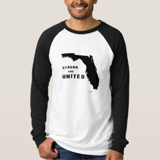 Strong and united Florida after hurricane Irma T-Shirt